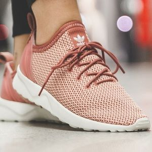 Adidas Raw Pink ZX FLUX ADV VIRTUE SOCK Sneakers